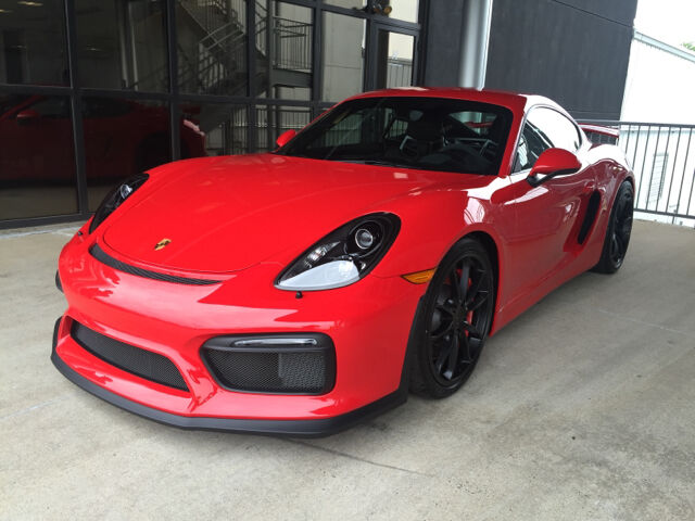 Imagen 1 de Porsche Cayman  red