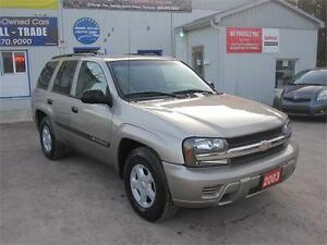 2003 Chevrolet TrailBlazer| NO ACCIDENTS|MUST SEE|AWD| NEW TIRES