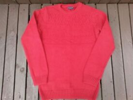 Boys NEXT Knitted Jumper, Red, Age 11 Years