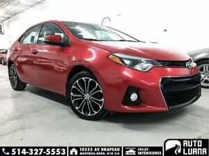 2014 Toyota Corolla S CUIRE/MAGS/TOIT/CAM/BLUETOOTH/TRES PROPRE!
