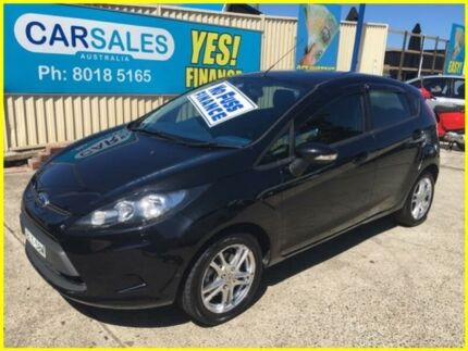 2009 Ford Fiesta WS CL Black 4 Speed Automatic Hatchback