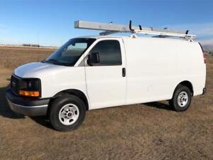 2015 GMC Savana 2500 Cargo Van $8K UPFITTED LOADED ONLY 72K