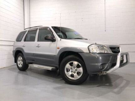 2002 Mazda Tribute Luxury Silver 4 Speed Automatic 4x4 Wagon Windsor Hawkesbury Area Preview