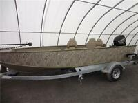Lund Boat - 1800 Alaskan Tiller  Wetlands - Hunting / Fishing