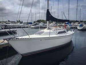 Immaculate C&C 27 Mk5 Sailboat (Inboard, new sails, not raced)