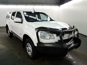 2012 Holden Colorado RG LX (4x4) White 5 Speed Manual Crewcab Albion Brimbank Area Preview
