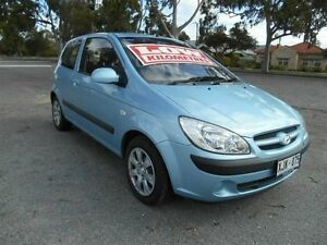 2005 Hyundai Getz TB Upgrade 1.6 Blue 5 Speed Manual Hatchback Nailsworth Prospect Area Preview