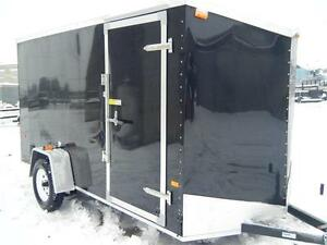 6X12 V-Nose Cargo Trailer - X Package w/Ramp