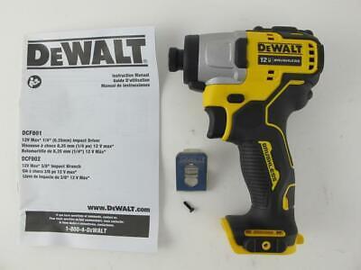 "DeWalt NEW Brushless 12 Volt XTreme Cordless 1/4"" Impact Gun"