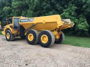 Volvo A25G Rock Truck for rent