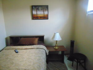 Clean & Furnished room for rent