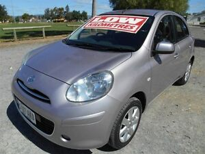 2010 Nissan Micra K13 TI LA Lilac 5 Speed Manual Hatchback Nailsworth Prospect Area Preview