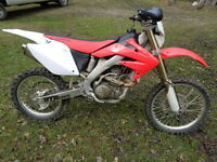 HONDA CRF 250X DIRTBIKE, EXCELLENT SHAPE NEW ENGINE/TIRE