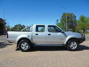 2014 Nissan Navara D22 Series 5 ST-R (4x4) Silver 5 Speed Manual Dual Cab Pick-up Belconnen Belconnen Area Preview