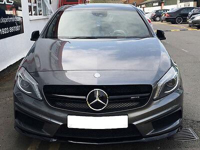 Mercedes W176 A Class AMG A45 grille grill Black A160 A180 A200 A220 A250 A45
