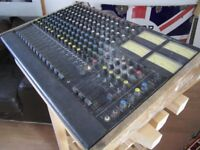 Studiomaster 16 into 4 Vintage Mixer Desk/Deck Music Studio Recording Mixing