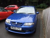 2005 MG=ZS+ 1,8 SPORTS SALOON MOT/ NOVEMBER( read full add )POSS PART X