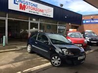 2007 07 FORD FIESTA 1.2 STYLE 16V 3d 78 BHP **** GUARANTEED FINANCE ****