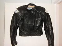Ladies Lookwell Motorcycle Jacket Size 10/12