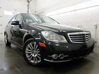 2012 Mercedes-Benz C250 4MATIC NOIR NAVIGATION CUIR 69,000KM