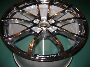 CORVETTE C7 CHROME OEM RIM