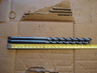 Lot Of 2 Guhring 8.7mm .347 X 8-34 Solid Carbide Parabolic Drill
