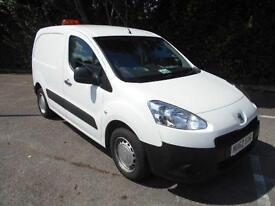 Peugeot Partner L1 850 S 1.6 Hdi 90BHP VAN DIESEL MANUAL WHITE (2012)