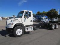 2009 FREIGHTLINER TANDEM AXLE CAB & CHASSIS