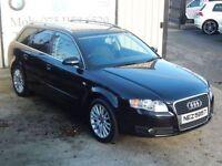 AUDI A4 2.0 TDI SE TDV 5d 140 BHP ( FINANCE & WARRANTY AVA (black) 2007