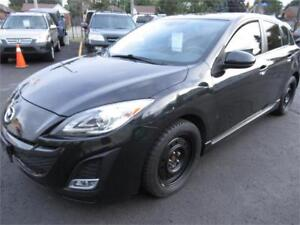 2011 Mazda 3 sport black GT,ACCIDENT FREE, MINT CONDITION