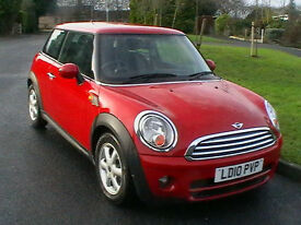 2010 MINI COOPER DIESEL 1.6TD £20 YEAR ROAD TAX 6 SPEED GEARBOX HPI CLEAR