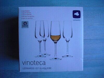 LEONARDO Vinoteca 6 Aperitifgläser Sektgläser Glas 15 cl