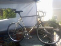 59cm Raleigh Criterium Road Bike with hand built 700'c wheelset
