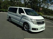 2002 Nissan Elgrand E51 Highway Star White 5 Speed Automatic Wagon Arundel Gold Coast City Preview