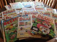 Beano,Dandy and Topper Comics