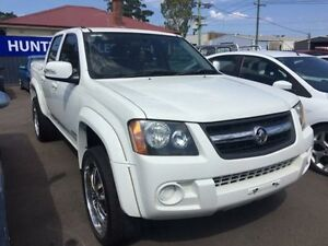 2009 Holden Colorado RC MY09 LX (4x2) White 5 Speed Manual Crewcab Sandgate Newcastle Area Preview