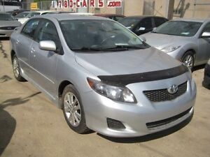 2009 Toyota Corolla SPORT - WE DO TRADES + WE FINANCE Edmonton Edmonton Area image 2