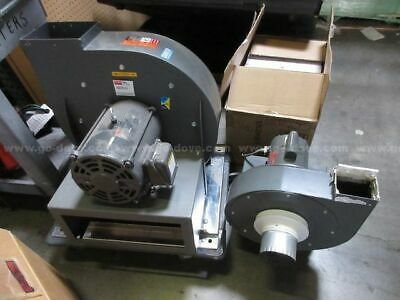 Dayton 4c108 Blower 10 58 Wheel 1hp Single Phase