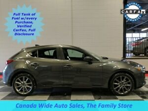 2018 Mazda Mazda3 Sport GT, Navigation, Sunroof, Back Up Camera