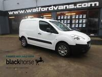 2014 Peugeot Partner 850 1.6HDi 92ps E/Windows Roof Rack Diesel white Manual