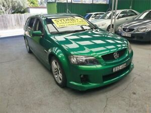 2010 Holden Commodore VE II SV6 Sportwagon Green 6 Speed Sports Automatic Wagon