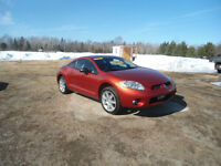 2006 Mitsubishi Eclipse Tan/orange leather Coupe (2 door)