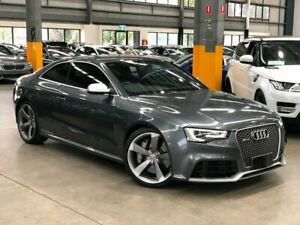 2013 Audi RS5 8T Coupe 2dr S tronic 7sp quattro 4.2i [MY13] Grey Sports Automatic Dual Clutch Coupe Port Melbourne Port Phillip Preview