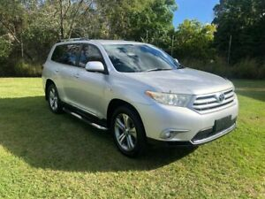 2010 Toyota Kluger GSU40R KX-S (FWD) Silver 5 Speed Automatic Wagon Slacks Creek Logan Area Preview