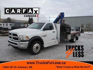 2013 Ram 5500 4X4, Picker Truck