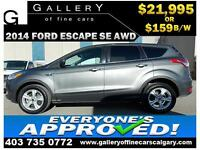2014 Ford Escape SE AWD $159 Bi-Weekly APPLY TODAY DRIVE TODAY
