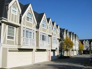 Renovated 3 level 4 bedrooms townhome in Richmond near shopping