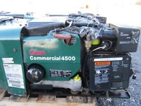 Onan 4500 commercial generator. 110 & 220v works perfect