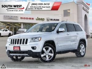 2012 Jeep Grand Cherokee Overland | Leather | Moonroof | Heated