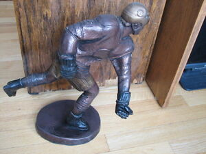 Hockey sculpture